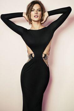 Gucci Spring 2010 RTW Black Floor-Length Dress
