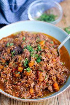 Pressure Cooker Beef Ragu Sauce