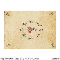 Tiny Fairies table cloth - sand