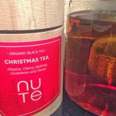 """Gfilt: NUTE """"Christmas Tea"""" Oriental Taste, Tea Brands, Christmas Tea, Organic, Bottle, Food, Oriental Style, Flask, Essen"""