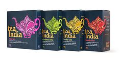 Tea India designed by Embrace Brands