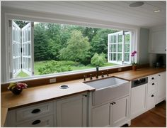 Ways to Give Your Kitchen a Deep Clean When I move to the country, I'm incorporating these windows into my dream home design.When I move to the country, I'm incorporating these windows into my dream home design. New Kitchen, Kitchen Decor, Awesome Kitchen, Kitchen Ideas, Eclectic Kitchen, Kitchen Designs, Kitchen Layout, Kitchen Country, Long Kitchen