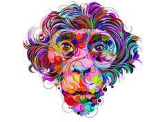 Les illustrations en cercles et très colorées de Martin Sati