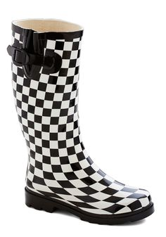 Chess for Success Rain Boot, #ModCloth