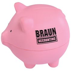 pig | Pig Stress Reliever (Item No. 49859) from only $1.09 ready to be imprinted by 4imprint Promotional Products