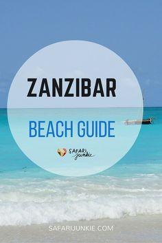 guide to Zanzibar Beaches Tanzania