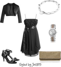 Dresscode: black, created by jet1975 on Polyvore