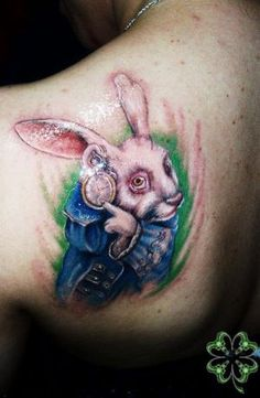 Body Art Inspiration: Alice in Wonderland by annajordanart on ...