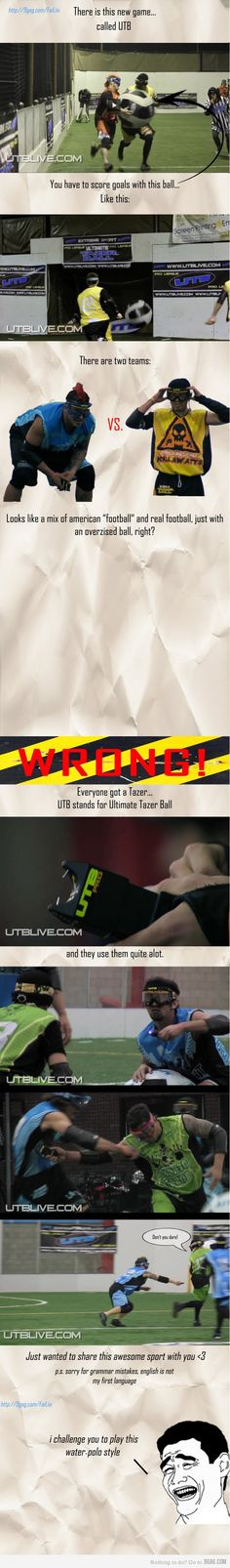 Ultimate Taser Ball