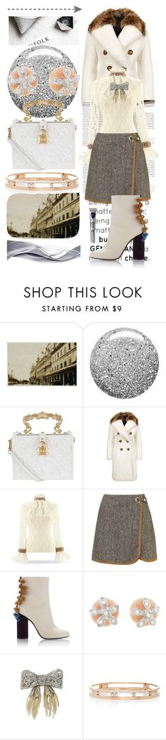 """Seasons"" by rita257 ❤ liked on Polyvore featuring Stop Staring!, Topshop, Dolce&Gabbana, Burberry, Cathy Waterman, Alexis Bittar, Messika and Eyeko"
