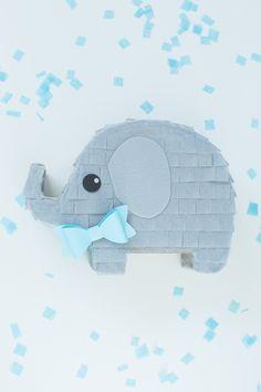 It's a boy! Boy pinata for baby gift.. Surprisepinata.com