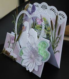 Marianne Design Cards, Pop Up Art, Fancy Fold Cards, Bird Cards, Beautiful Birds, Paper Cutting, Making Ideas, Cardmaking, Craft Projects
