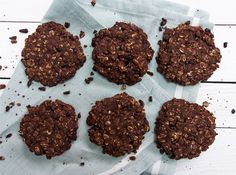 Chocolate Oat Cookies and a Cookbook! | Deliciously Ella
