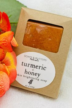 Turmeric & Honey Hormonal Acne Face/Body Soap; Sensitive Skin; Antibacterial and Anti-Septic Properties, Skin Brightening; Exfoliating Bar by SoapsAndButtersLA on Etsy Tumeric And Ginger, Turmeric Soap, Sensitive Acne Prone Skin, Soap For Sensitive Skin, Exfoliating Gloves, Exfoliating Soap, Citrus Essential Oil, Essential Oil Blends, Psoriasis Skin