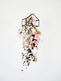 Lyndie Dourthe hanging flowers