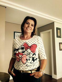 Raquel Superlinda: Sê Chique - Camiseta da MINNIE