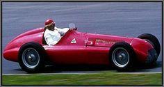 1950 Alfa-Romeo-158/159. Guiseppe Farina and Juan Manuel Fangio