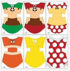 6 Popcorn Box Mario Bros por Migueluche en Etsy