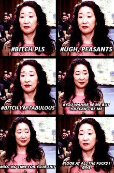 Grey's Anatomy - don't deny Cristina Yang is a queen