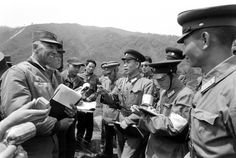 Outtake from Korea DMZ photo essay, 1960.  John Dominis—The LIFE Picture Collection