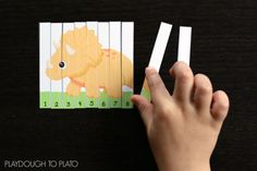 Activity for ages 3 to 7. Dinosaur fans will fall instantly smitten with our newestfree printable number puzzles!As they slide together one roaring dinosaur at a time, they'll be practicingcounting from 1 to 120, reading numbers, adding on and more. Grab your copy below and then hop over and check out our popular NO PREP …