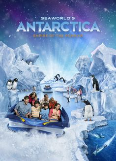 #Antarctica Empire of the Penguins #SeaWorld