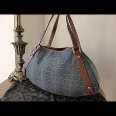 ee295bc247b Authentic Nwot Gucci Abbey Denim Bag Denim Bag