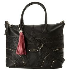 Cheap GUESS - Hylah Medium Tote (Black) - Bags and Luggage online - Zappos is proud to offer the GUESS - Hylah Medium Tote (Black) - Bags and Luggage: Shoulder this sensational Hylah Medium Tote and instantly add stylish luxe-appeal to your ensemble.