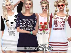 Sims 4 CC's - The Best: Dress by Pinkzombiecupcake