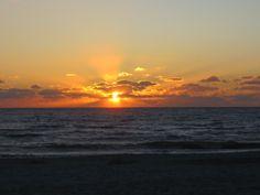 Sunset on the Gulf of Mexico -- Madeira Beach, FL