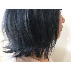 先日のカラーカットのお客様 blue切りっぱなしかっこいいですブリーチ必須ですいつもありがとうございます_春休み楽しんでね中村 #creer_for_hair#鹿児島美容室#鴨池美容室#美容室#throw#カラー#Wカラー#ブルーアッシュ#ブルー#アッシュ#きりっぱなしボブ#ボブ#beauty#fashion#hairstyle#haircolor#haircut#crazyhair#instahair#bluehair#blue