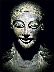 The ancient Etruscans may have migrated to Italy from the Near East, bringing sophisticated art, like the terra cotta statue of Apollo of Velo.