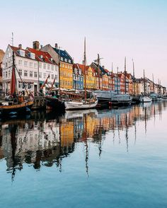 Nyhavn Copenhagen Denmark... Photo from @danielvisuals! Have you ever visited this awesome city? Tag someone you would like to be there with! Don't miss to check the tagged profiles for more Denmark & Scandinavia photos!