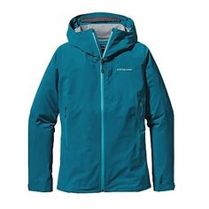 Patagonia Womens Refugitive Jacket. Underwater Blue