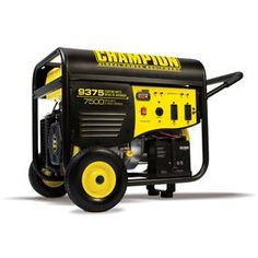 Champion Power Equipment 7500-Running-Watt Portable Generator With Champion Engine 100219