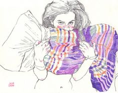 vivid and colourful pencil #Illustration works byJulian Landiniviafoxmouthhttps://www.tumblr.com/edit/121912332407