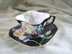 Merit Occupied Japan Tea Cup | Merit Occupied Japan Square Teacup Set by cresa on Etsy