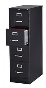 4 Drawer Letter Size Commercial File Finish: Black Best Daybeds, 4 Drawer File Cabinet, Top Computer, Hanging File Folders, Cabinet Dimensions, Daybed With Trundle, Hanging Files, File Organization, Hanging Organizer