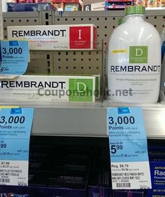 New $2/1 Rembrandt Toothpaste or Mouthwash Printable Coupon (as low as $2.12 at Walgreens after Sale, Coupons and Points - 75% Savings) - http://www.couponaholic.net/2014/11/new-21-rembrandt-toothpaste-or-mouthwash-printable-coupon-as-low-as-2-12-at-walgreens-after-sale-coupons-and-points-75-savings/