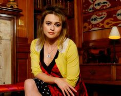 Helena Bonham Carter :) she's so beautiful <3 and I love her dress!