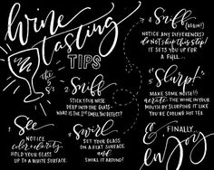 8x10 DIGITAL DOWNLOAD Chalkboard Wine Tasting by MASandMILLIE