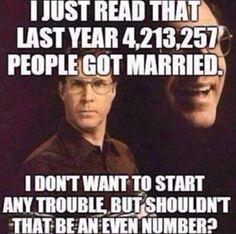 LOL. True