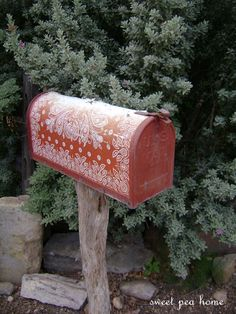 Fun Funky Painted Mailbox by mizippihippi on Etsy, $125.00 ...  Funky Painted Mailboxes