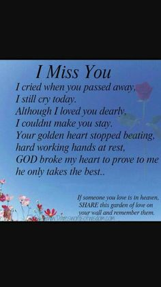 7 Best Quotes Someone In Heaven Images Miss You Miss U So Much