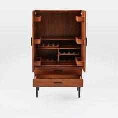 Reede Bar Cabinet - Tall | west elm
