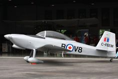 Superb Vans RV-8 in Canadian Military colors