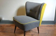 SOLD - 50s cocktail chairs - pair