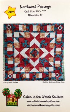 Northwest Passage Quilt Pattern by Lonestarblondie on Etsy