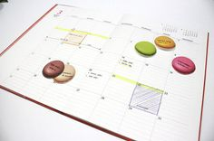 Sticky Note Macarons / Notepad / Memopad by DubuDumo on Etsy <3<3