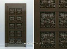 Lesser Seen Options For Custom Wood Interior Doors Wooden Glass Door, Wooden Main Door Design, Wooden Doors, 4 Panel Interior Door, Interior Barn Doors, White Bedroom Door, Internal Glazed Doors, Contemporary Interior Doors, Ceiling Trim